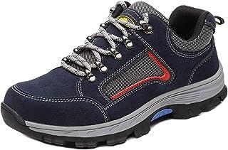 c41babd17a28f Axcer Homme Chaussure de Sécurité Respirant Imperméable S3 Chaussure de  Travail Embout de Protection en Acier