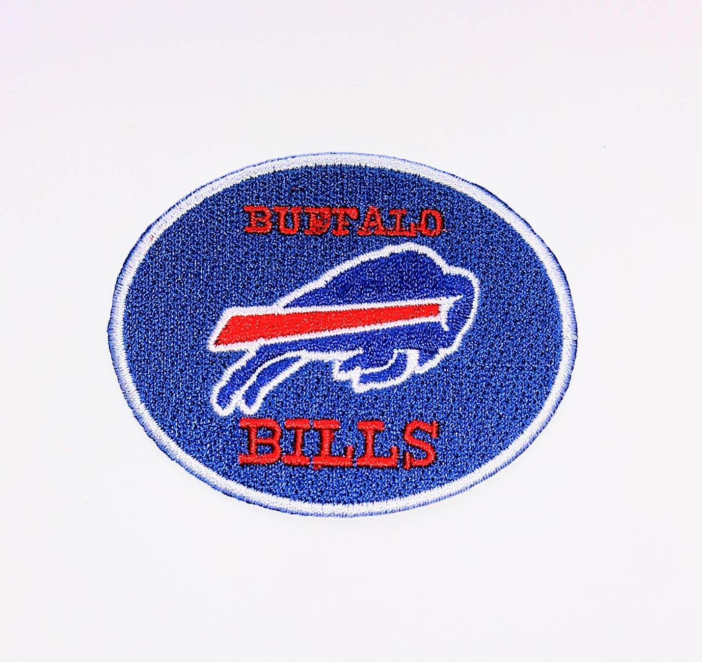 BILLS iron on embroidered EMBROIDERY Super intense SALE patches patch X 2.8 San Jose Mall 2. SIZE