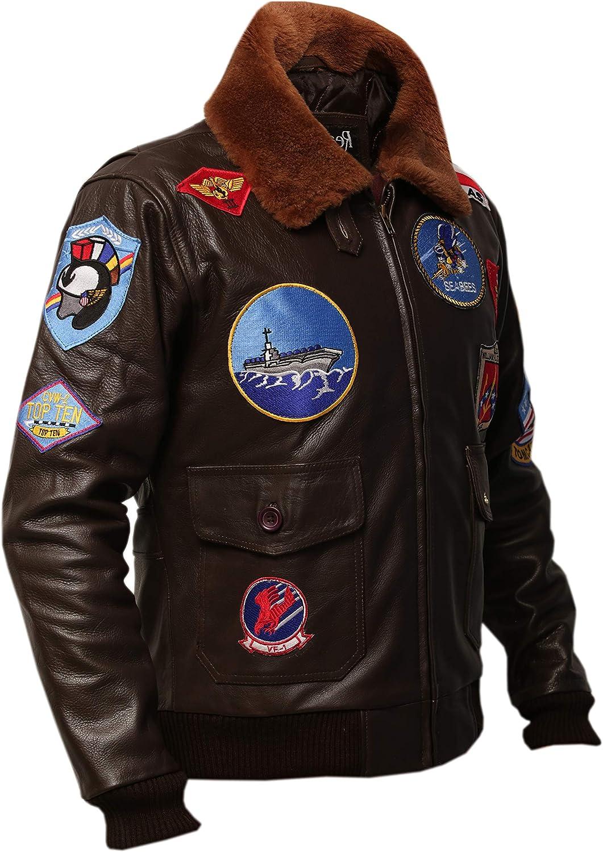 G1 Bomber Cowhide Leather Jacket by GENUSKIN