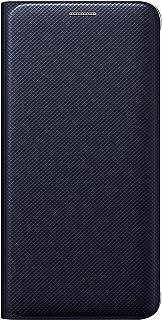 SAMSUNG Galaxy S6 Edge+ Case Wallet Cover Folio - Black Sapp