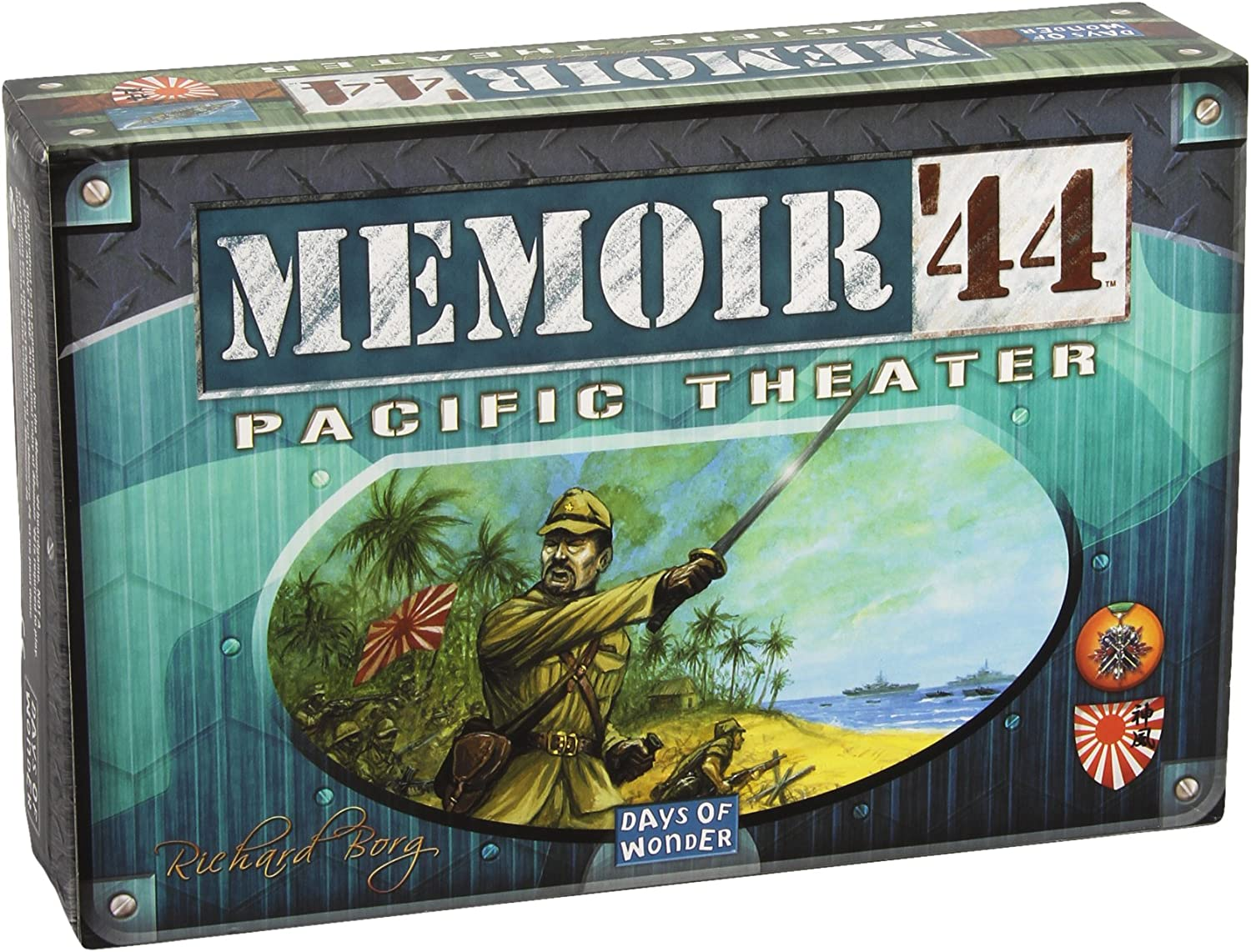 Asmodee - Days of Wonder 200328 - Memoire '44 Pazific Theater