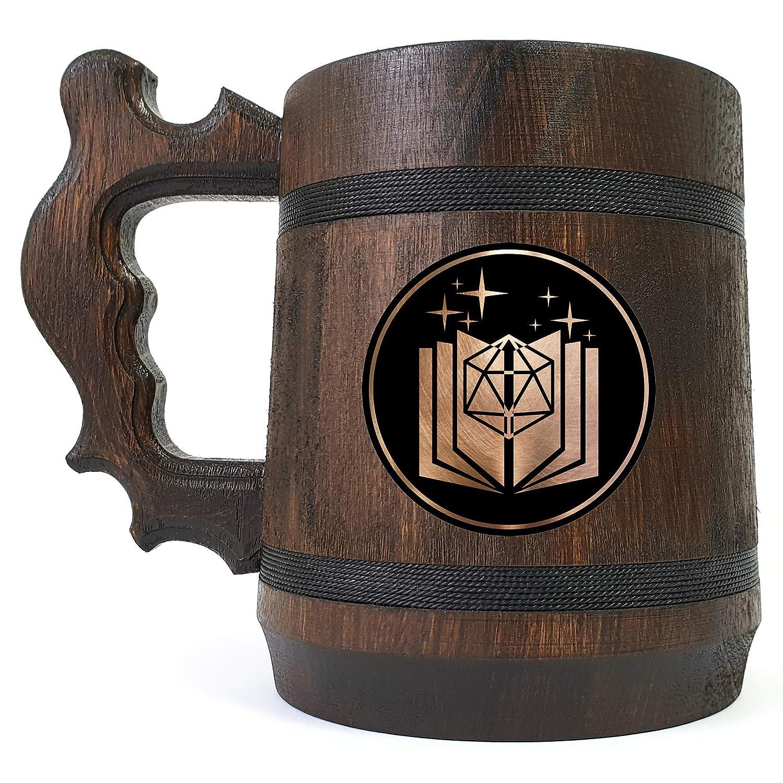 Storyteller's Book DD Wooden Dragons Overseas parallel import regular item Mug Beer Dungeons Max 79% OFF