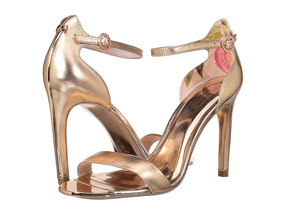 Ted Baker Sharlot (Rose Gold Leather) High Heels