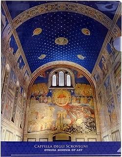 大塚国際美術館 オリジナル A4クリアファイル スクロヴェーニ礼拝堂 ジョット
