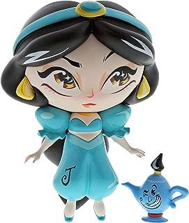 Enesco The The World of Miss Mindy Aladdin Jasmine and Mini Genie Vinyl Figurine, 7 Inch, Multicolor