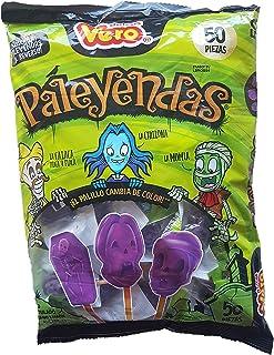 Vero Paleyenda Limited Edition lollipops Halloween theme Pops 50 pieces (600 grams/ 17.66oz