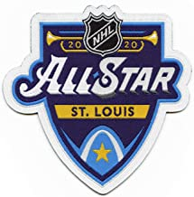 2020 Official NHL All Star Game St Louis Blues Embroidered Jersey Patch Woven
