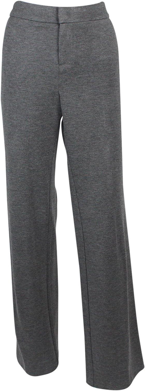 Ecru Women's Mercury Slim Trouser (Size 12, Charcoal Heather)