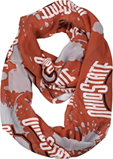 ohio state infinity scarf