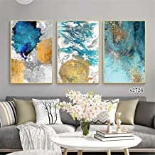 3 Pieces Modern Wall Art Nordic Minimalist Abstraction Posters Decor Picture Printed Canvas Artist Home Decor Artwork Wall...