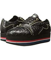 Just Cavalli - Cocco Printed Leather Sneaker
