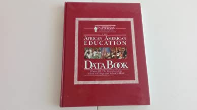 The African American Education Data Book: Higher and Adult Education