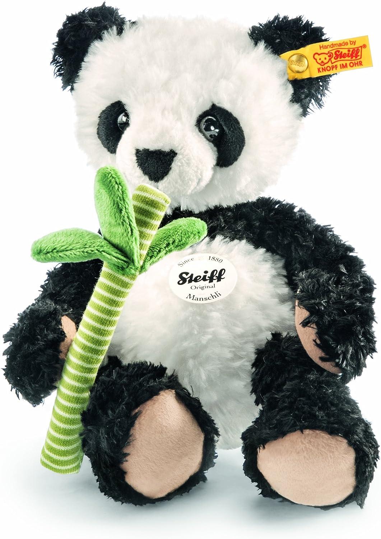 Steiff 282188 - Manschli Panda, 26 cm, wei schwarz