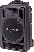 Generic 80W 520-544MHz Dual UHF Wireless Portable PA System