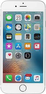 Apple iPhone 6 64GB Factory Unlocked GSM 4G LTE Smartphone, Silver (Renewed)