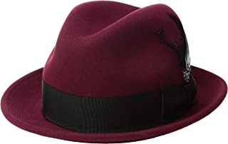 Bailey of Hollywood Men's Tino Fedora Trilby Hat