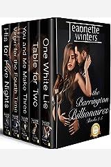 The Barrington Billionaires Collection: Books 1-5 Kindle Edition