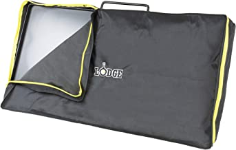 Lodge Fits (Model A5-7) Outdoor Cooking Table Cover, One Size, Black