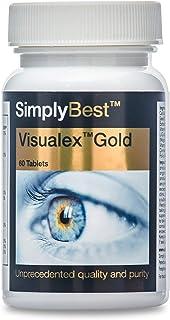 Visualex Gold - Con Luteina e Zeaxantina - 60 compresse - 2 mesi di trattamento - Adatto ai vegani - SimplySupplements