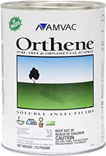 Orthene 97.4% Acephate 0.773lb Systemic Soluble Insecticde for Turf, Tree & Ornamentals