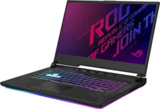"ASUS ROG Strix G15 (2020) Gaming Laptop, 15.6"" 240Hz FHD IPS Type Display, NVIDIA GeForce RTX 2070, Intel Core i7-10750H, ..."