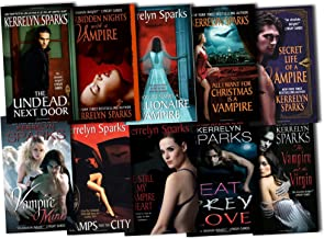 Kerrelyn Sparks Collection Love at Stake 10 Books Set Pack RRP: £79.90 (Vamps and the City, All I Want for Christmas is a Vampire, Secret Life of a Vampire, Forbidden Nights with a Vampire, How to Marry a Millionaire Vampire, The Undead Next Door, Eat Pre