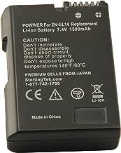 STK EN-EL14 EN-EL14a Battery for Nikon D3400 D5600 D3500...