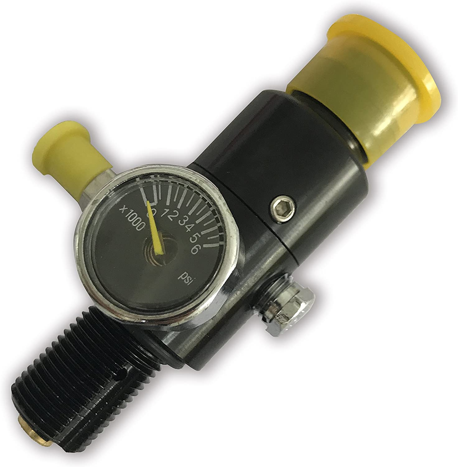 Acecare Adaptor Or Regulator for 4500 psi Composite Tank with 850 PSI Output Pressure