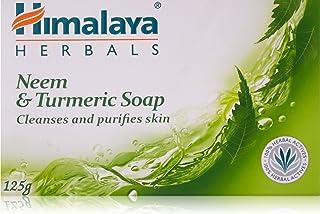 Himalaya Herbals Neem and Turmeric Soap, 125g (Pack of 4)