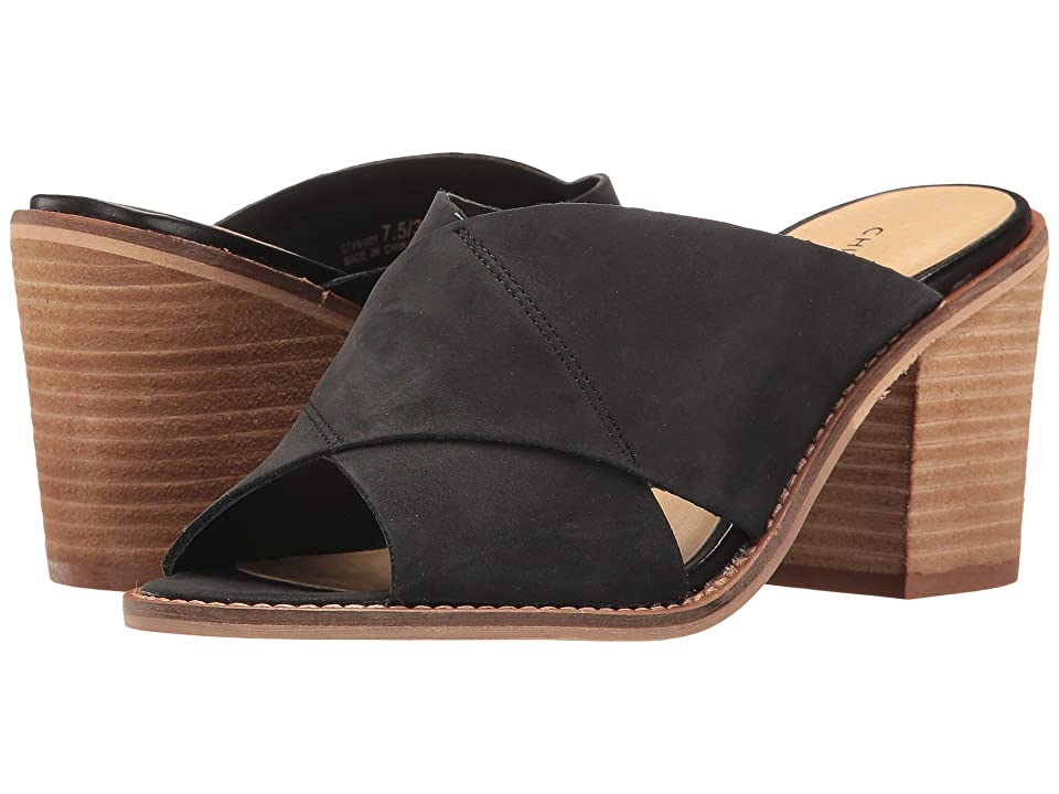 Chinese Laundry Crissa (Black Leather) High Heels