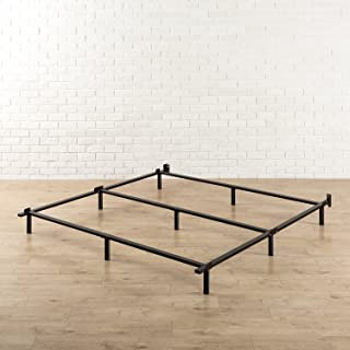 Zinus Paige Compack 7 Inch Heavy Duty Bed Frame, for Box Spring and Mattress Sets, Cal King