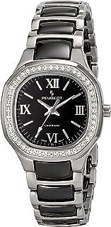 ساعة بيجو PS4906BS انالوج عرض كوارتز سويسرية فضية للنساء