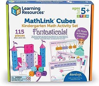 Learning Resources MathLink Cubes Kindergarten Math Activity Set: Fantasticals! Math Activity Set, Math Manipulative, Earl...