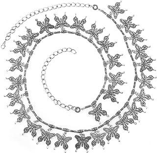 Jewel Pari Antique Oxidized Kamarband for Women