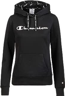 Champion 111276 KK001NBK Women's Hooded Sweatshirt, Medium, Black