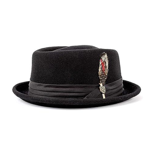 582a5867895e2 Brixton Men s Stout Pork Pie Hat
