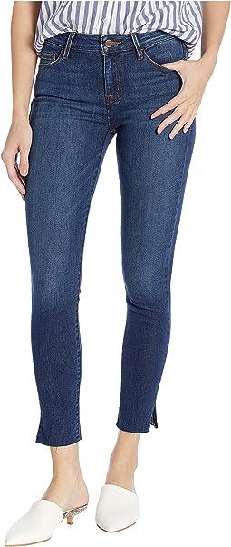 Social Standard Ankle Skinny Jeans in Detroit Blue