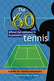 The 60 different shot combinations to be practiced in tennis