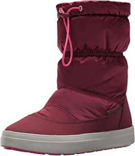 Crocs LodgePoint Shiny Pull-on Boot, Botas para Mujer