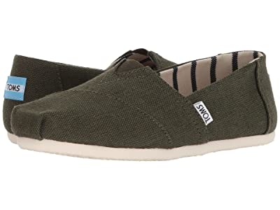 TOMS Venice Collection Alpargata (Pine Heritage Canvas) Women