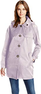 London Fog Women's Button Front Topper
