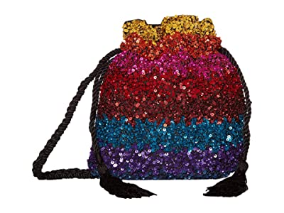 Alice + Olivia Rope Embellished Pouch (Multi) Handbags