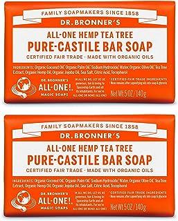 Dr. Bronner Bio czyste mydło z drzewa herbacianego 5 oz - 2 bary