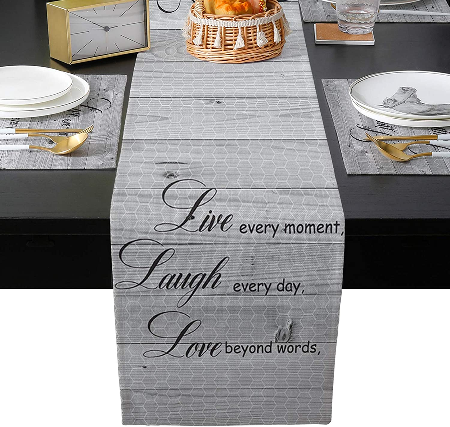 Motivation Motto Table Mats Sets Be super welcome Placemats inch Set 13 of 5% OFF 19 x