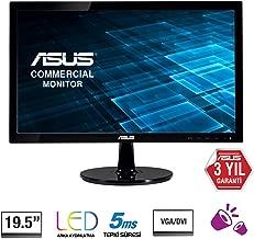 Asus Vs207t-p 19.5 Led LCD Monitor - 16:9-5 Ms - Adjustable Display Angle - 1600 X 900-16.7 Mi
