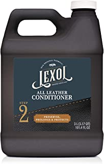 Lexol Leather Conditioner, 3 Liters, Best Cleaner and Conditioning Since 1933 3-Liter for Use on Apparel, Furniture, Auto ...