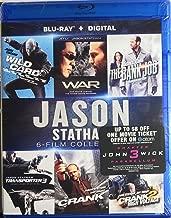 Jason Statham: 6-Film Collection (The Bank Job / Crank / Crank 2: High Voltage / Transporter 3 / War / Wild Card) [Blu-ray + Digital HD]