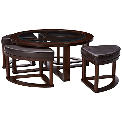 Magnificent Coffee Tables With Stools Underneath Amazon Com Andrewgaddart Wooden Chair Designs For Living Room Andrewgaddartcom