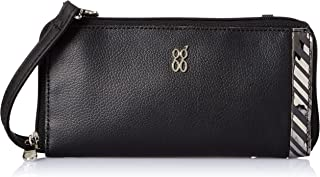 Baggit Spring-Summer 2020 Faux Leather Women's Ziparound Wallet (Black) (Diagy)