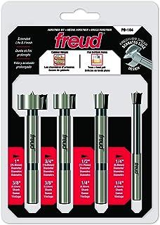 Freud 4 Pcs. Precision Shear Forstner Bit Set (PB-104)
